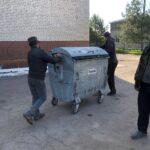 Сміттєві контейнери школи 1