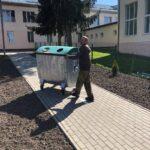 Сміттєві контейнери школи 4